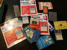 Lot of Vintage Hand Sewing and Machine Needles ~ Prims- Coat of Arms - Singer