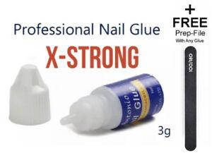 3G Nail Glue Clear X Strong Adhesive Acrylic False Nails Tips Art