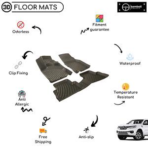 3D Molded Vehicle Specific Rubber Floor Mat for Renault Alaskan 2017- Up