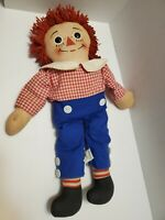Vintage 70's - 80's Knickerbocker's Raggedy Andy Doll 18 Inches Tall