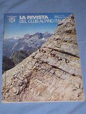 LA RIVISTA DEL CLUB ALPINO ITALIANO  - Settembre Ottobre 1980 (M4)