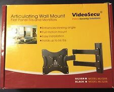 Articulating TV Wall mount Video Secu 66 Pounds Black