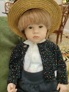 """""""Stan 1"""" 23"""" doll by Sabine Esche for Sigikid 1991 no 15 of 750"""