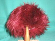 """Parrucca Bambola ROSSO 9"""" a 9.5"""" Punta dei Capelli/Pelle D'agnello/per clown ecc./Germania"""