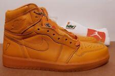 Size 11 Nike AIR JORDAN 1 RETRO HI OG G8RD GATORADE ORANGE PEEL New bred royal