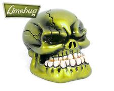 Metallic Green Jaw Custom Gearstick Skull Resin Gear Knob Stick Universal VW T2