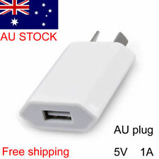 5V 1A AU Plug USB Wall Charger Power Adapter For iphone 6 7 8 X Samsung Huawei