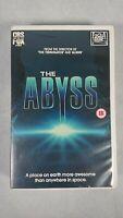 The Abyss  - VHS Cassette - PAL - Ex-Rental Big Box - 1989 - 20th Century Fox