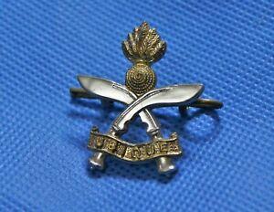 Regimental Military Army Cap Badge with Lugs - Gurkha Engineers