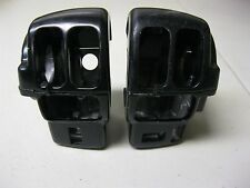 HARLEY DAVIDSON BLACK LEFT & RIGHT HAND CONTROL SWITCH HOUSING FOR 08-UP FBW