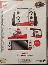 Nintendo Switch Skin & Screen Protector Set- Super Mario or Zelda Joy-Con Skin