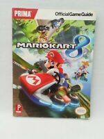 Prima-Mario Kart 8 Official game guide paperback Nintendo 2014 252 pages complet