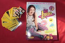 Album figurine SOY LUNA PANINI COMPLETO - VUOTO + TUTTO IL SET DA ATTACCARE