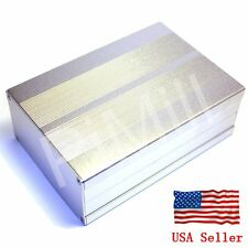 Aluminum Project Box Enclosure Case Electronic Diy 150x105x55mm Sliver Us Stock
