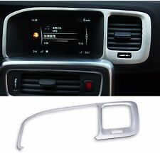 Stainless Steel Navigation Frame Cover Trim Decoration Strip For Volvo S60 V60
