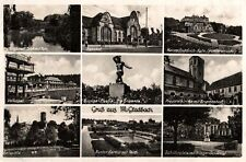 3950/ Foto AK, Gruß aus M.-Gladbach, 9-Bildkarte, 1942