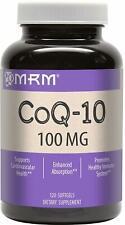 CoQ-10, MRM, 120 softgels 100 mg