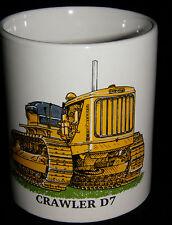 BN Caterpillar Crawler D7 Stoneware Mug,  Construction and Plant 1/2 pint mug,