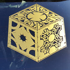 Hellraiser - Puzzle Box - Vinyl Decal - Multiple Colors