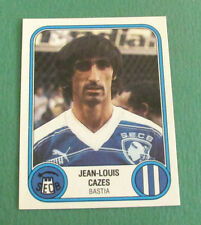 N°23 JEAN-LOUIS CAZES BASTIA SECB PANINI FOOTBALL 83 1982-1983