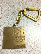 1972 XI Winter Games OLYMPIC SAPPORO JAPAN Keychain HTF
