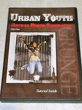 URBAN YOUTH Grunge Photo Templates DVD Senior Portraits 100 PSD Files Photoshop