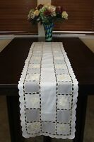 Embroidered Lace Placemat Dining Table Scarf  Runner Wedding Party Home Decor