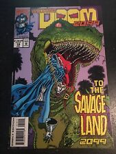Doom 2099#19 Incredible Condition 9.4(1994) Savage Land, T-Rex Cover!!