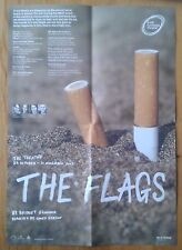 The Flags fold out poster Royal Exchange Theatre 2007 Kieran Cunningham