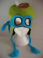 Teenage Mutant Ninja Turtles TMNT Laplander Hat Mask Licensed Brand New