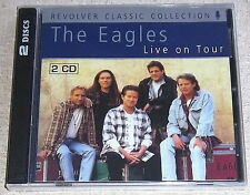 THE EAGLES LIVE ON TOUR 2CD RARE SOUTH AFRICAN CAT# REVCDD 615