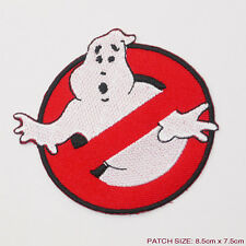 GHOSTBUSTERS CREW LOGO Fancy Dress Costume Iron / Sew On Patch T-shirt Transfer