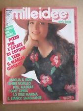 MILLEIDEE n°5 1988 - rivista di moda e lavori femminili  [G582]