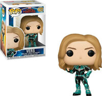 FUNKO POP! MARVEL: Captain Marvel - Vers [New Toys] Vinyl Figure