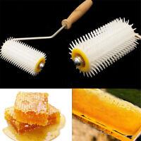 Beekeeping Tool Plastic Uncapping Needle Roller Bee Honey Extracting Equip uW