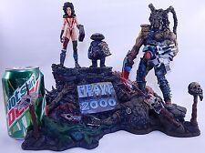 HEAVY METAL 2000 STATUE NINJA TURTLES EASTMAN BISLEY MONSTER DRAGON SKULL DEMON