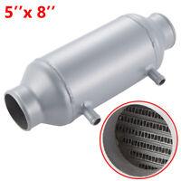 "Barrel Water to Air Intercooler 3'' Air Inlet Oulet 5"" x 8"" Cooler Supercharger"
