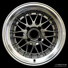 15x9 Rota KENSEI 4x114.3 +0 Royal Hyper Black Wheel (1)