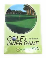 Golf's Inner Game Cards Insight and Tip Set 50 Card Deck New In Box SEALED