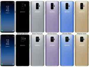 Samsung Galaxy S9 / S9+ Plus 4G LTE CDMA/GSM Factory Unlocked Mobile Cell Phone