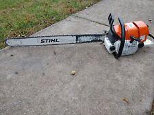 "Big NICE Stihl ms660 chainsaw 36"" bar & new chain!"