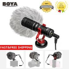 BOYA BY-MM1 3.5mm Cardiod Shotgun Microphone for Smartphones