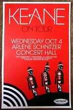 KEANE 2006 Gig POSTER Portland Oregon Concert