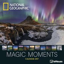 CALENDRIER 2017 - NATIONAL GEOGRAPHIC MAGIC MOMENTS - 30 x 30 cm