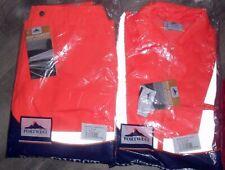 PORTWEST RT46 orange high-vis combat trouser M 31 inch L + RT40 JACKET