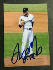 Azfl Autographed wallet photo, Seattle Mariners - Anthony Misiewicz