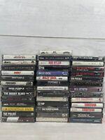 Cassette Tape lot of 40 Classic Rock Free Shipping Zepplin Kiss Doors