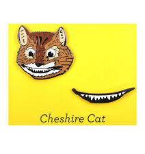 Cheshire Cat & Smile Twin Pin Set - Badge / Pin / Lapel Pin by Unemployed Philos