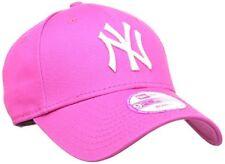 Era 9forty Womens Fashion ESS NY Yankees Baseball Cap - PinkWhite