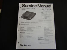 ORIGINALI service manual TECHNICS sl-xp340